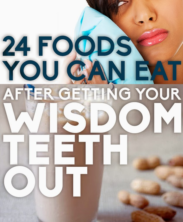 Food You Can Eat After Wisdom Teeth