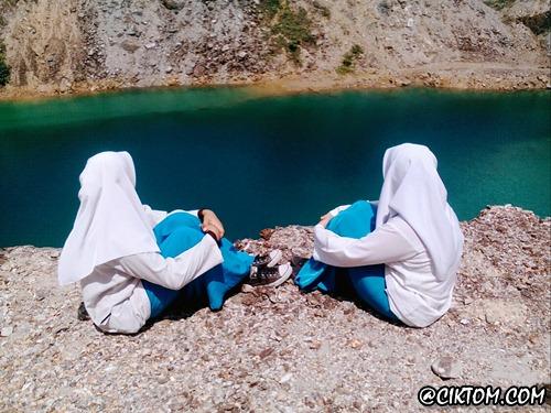 Pepsi Blue @Tasik Biru di Terengganu