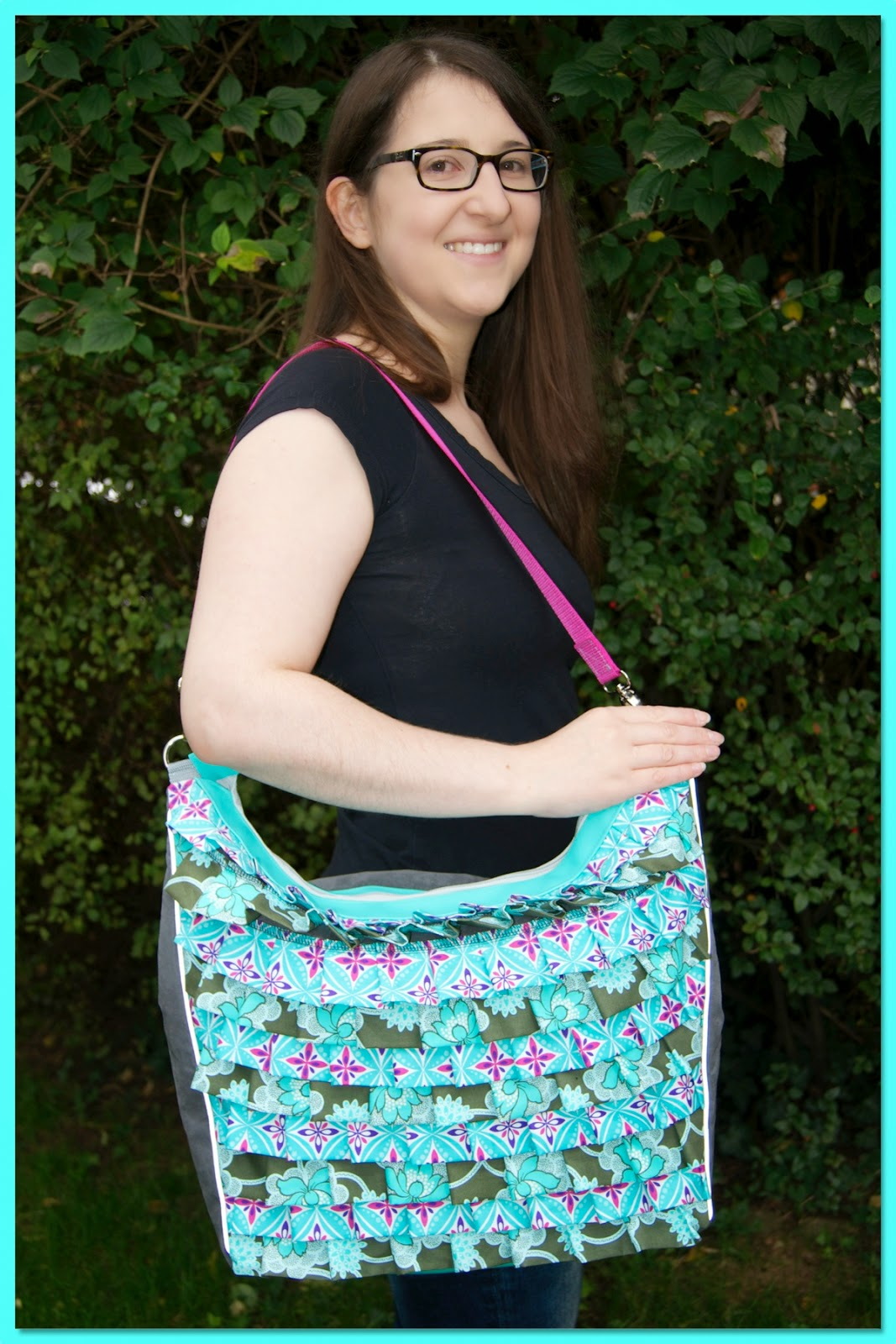 Zita beim Blind-Sew-Along 2014