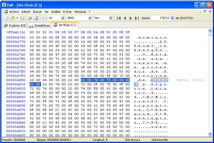 HEX EDITOR AND HXD DISK EDITOR FREEWARE TÉLÉCHARGER