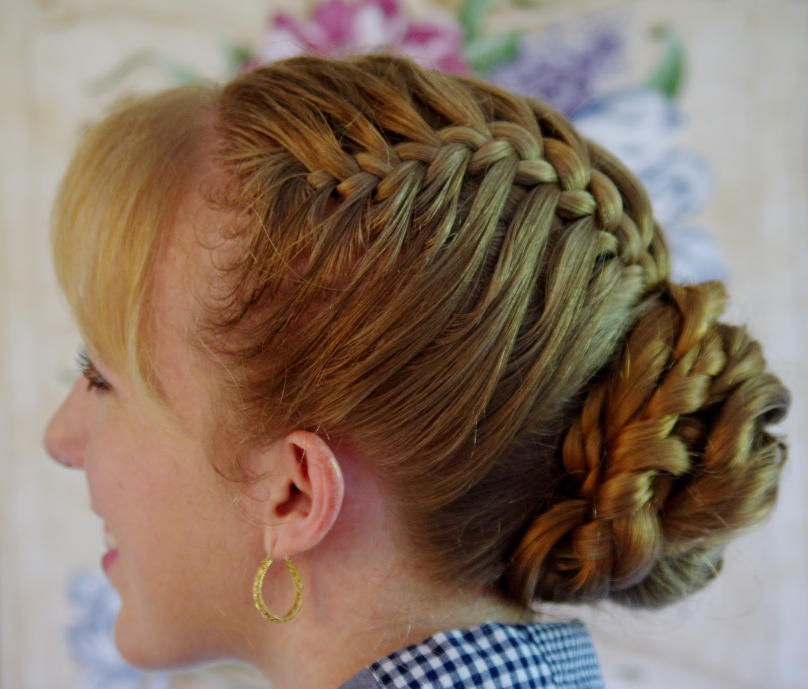 38 Intricate French Plait Hairstyles  Hairstylo