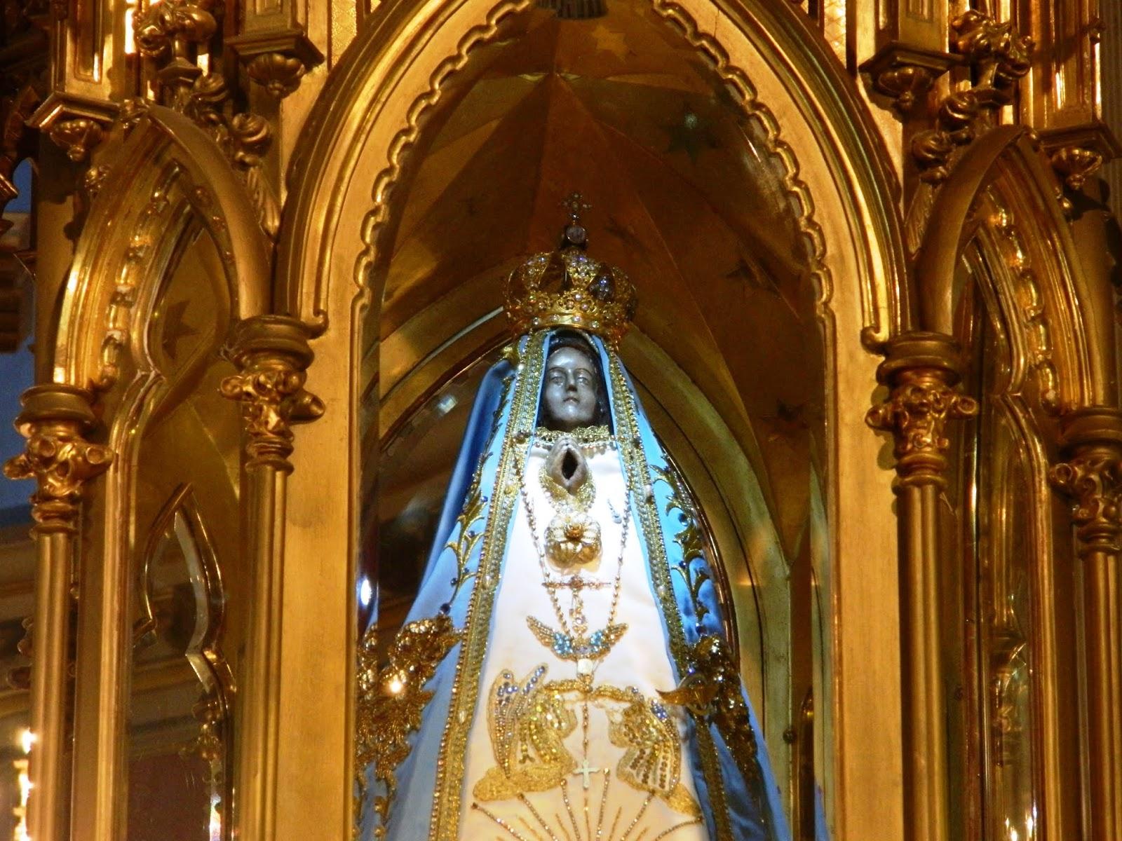 Prensa Obispado de Catamarca: La Virgen del Valle visitará el Santuario de  Mailín