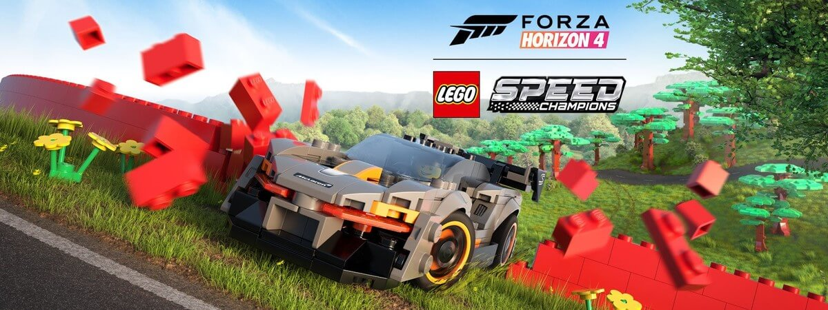 Forza Horizon 4 New Expansion 'LEGO Speed Champions' Launches This Week
