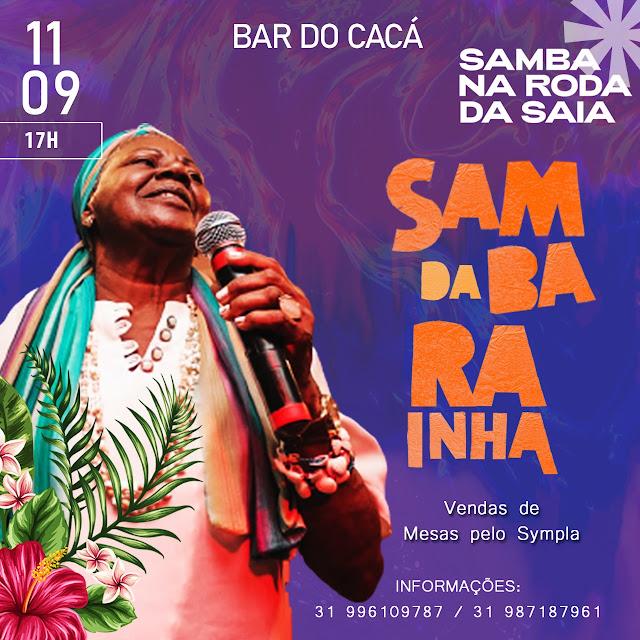 O Bar do Cacá Recebe, A Roda de Samba da Rainha, Homenagem a Sambista Dona Eliza