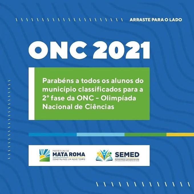 Fotos dos Alunos Classificados para a 2ª (Segunda) Fase da Olimpiada Nacional de Ciências - ONG.