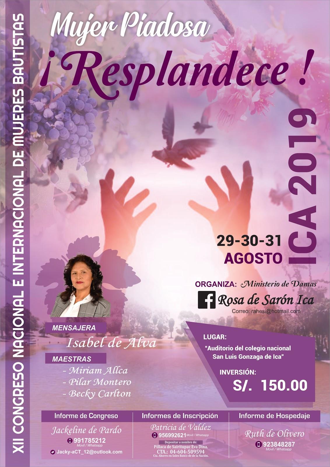Congreso de mujeres cristianas 2019
