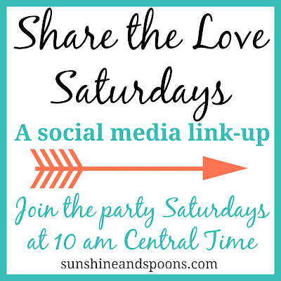 Share the Love Saturdays - A Social Media Link-up