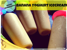 Banana Yoghurt Icecream