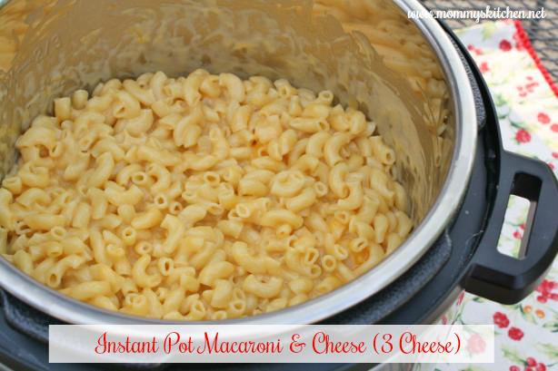 Instant Pot (3 Cheese) Macaroni & Cheese
