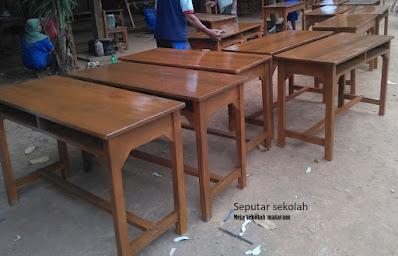 Meja Sekolah di Mataram