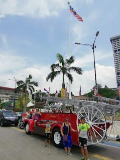 Merdeka Square o Plaza Merdeka. Kuala Lumpur, Malasia.