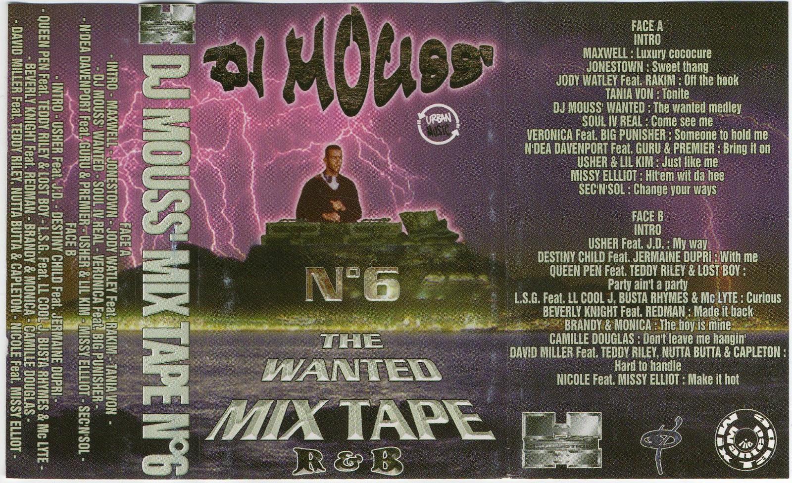 Dj mouss wanted mixtape n°11 (2001) youtube.