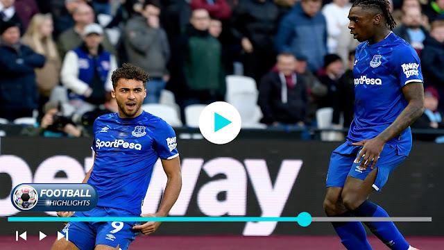 West Ham United vs Everton – Highlights