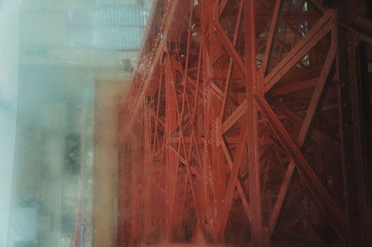 blackpool tower, urban photography, urban photo, abstract photography, contemporary photography, Sam Freek,