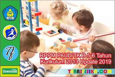 RPPM RKM TK B (5-6 Tahun) K13 Semester 1