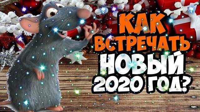 Как встретить Новый 2020 год, чтобы задобрить Белую Крысу