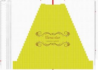 платье жемчужинка схема спинки