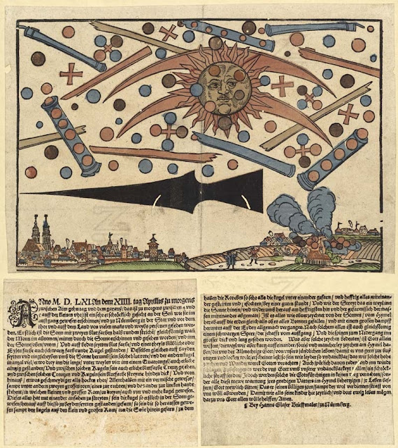 UFO Sightings - UFO Battle over Nuremberg