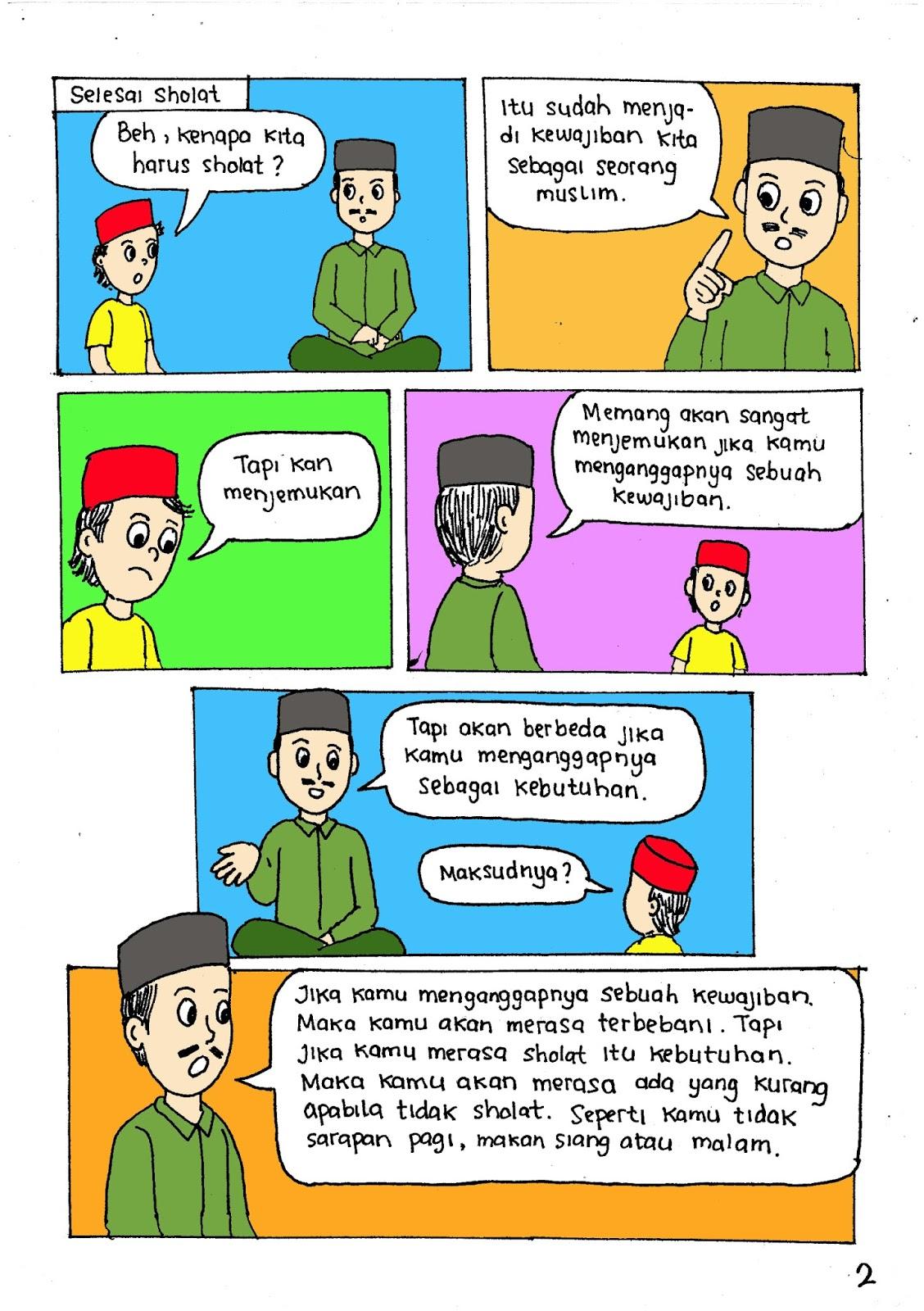 Gambar Komik Keindahan Alam | Komicbox