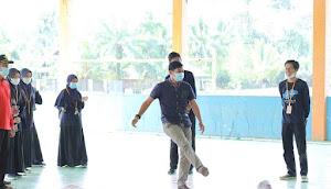 Khalis Mustiko Anggota DPRD Kabupaten Tebo, Hadiri Turnamen Futsal KKN UIN STS Jambi