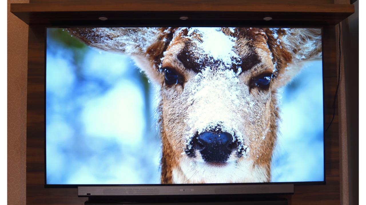 Motorola ZX Pro 55 inch 4k tv