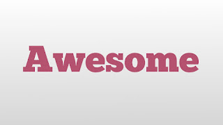 meaning of awesome in hindi