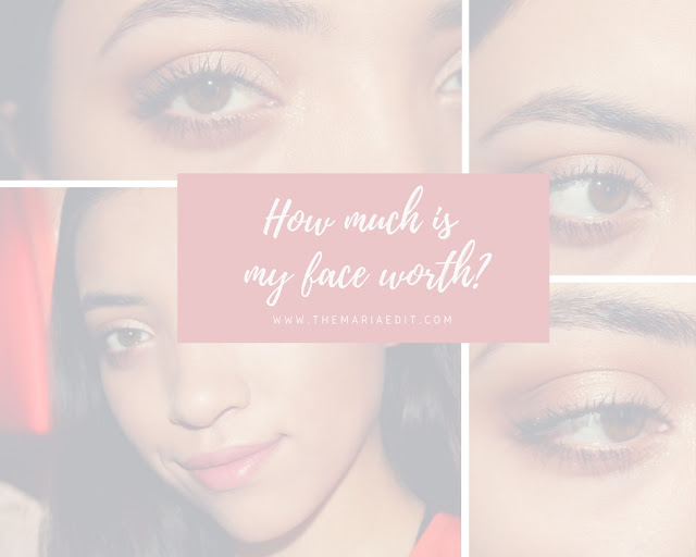 Guess how much is my face worth?