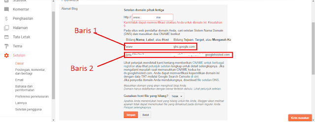 Cara Setting Domain Blogspot ke me Di Namecheap Blogger Terbaru 100% work