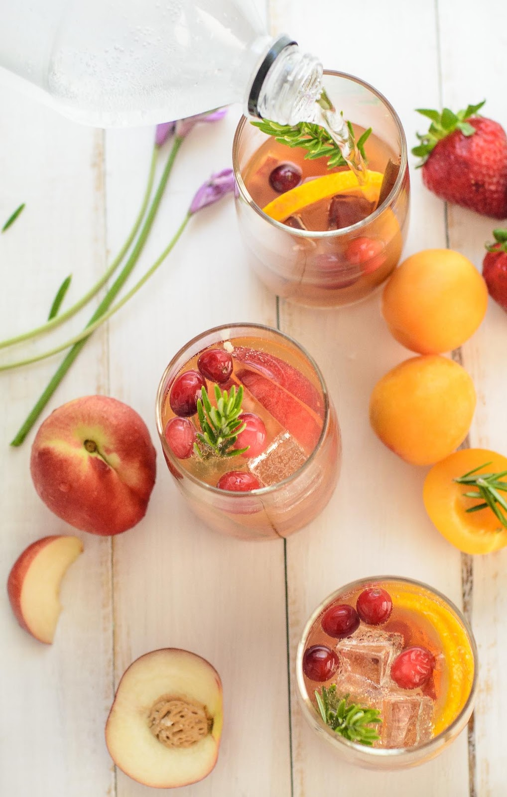 Non-alcoholic Sangria, a zesty summer drink for young and old to enjoy at parties.