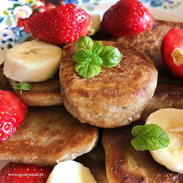 Pancakes bananowe na zakwasie