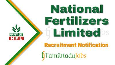 NFL recruitment notification 2020, govt jobs for engineers, central govt jobs, govt jobs in India,