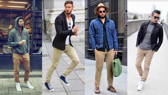 Inilah Celana Chino dan Beberapa Jenis Celana Lainnya yang Sering Digunakan Pria