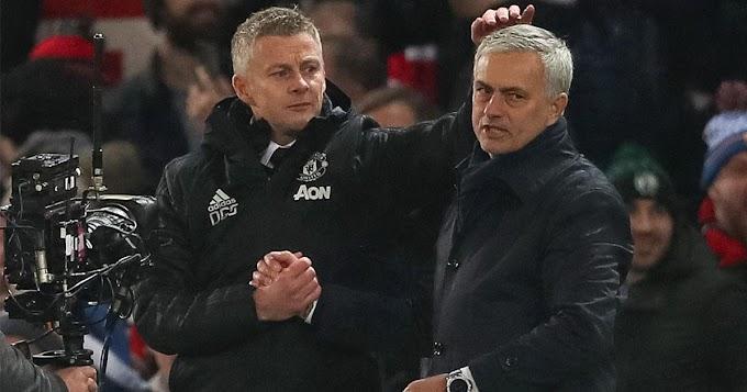 Solskjaer's head to head Statistic against Jose Mourinho ahead Tottenham clash Revealed