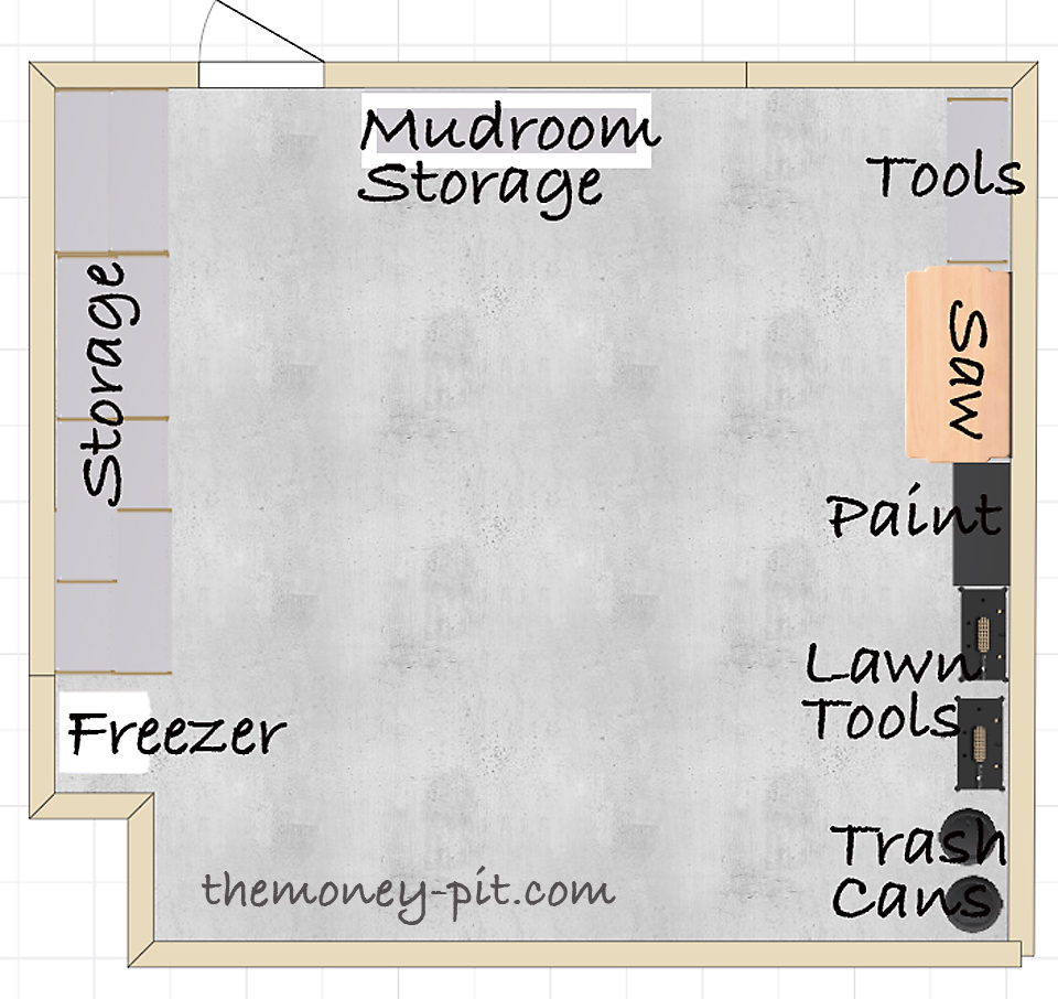 The Garage Makeover Get with the Plan The Kim Six Fix – Organize Garage Plans