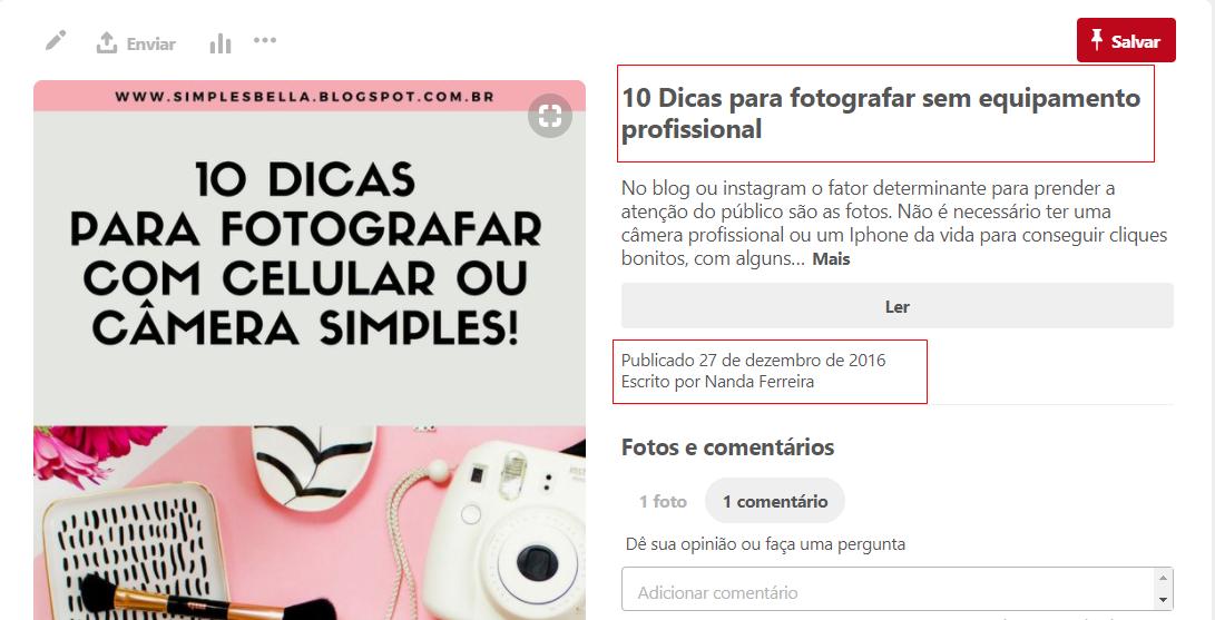 Como criar uma conta corporativa no Pinterest e usar para empresas