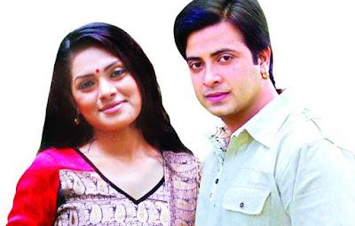 Nusrat Imroz Tisha with bd actror Sakib Khan