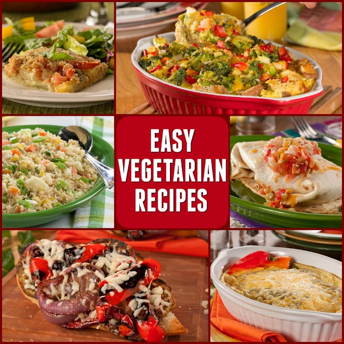 Vegetarian Recipes Made Quick And Easy