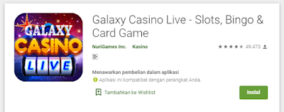 Galaxy Casino Live : Game Casino Android Paling Reccomended