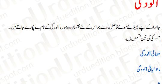 Essay on water in urdu language