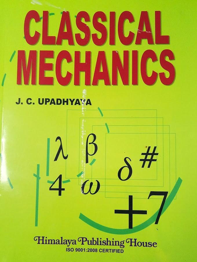 [PDF] Download Classical Mechanics By Dr JC Upadhyaya