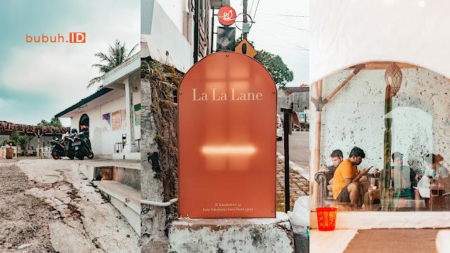La La Lane, Sebuah Kafe kekinian dengan konsep tempat tersantai di Sukabumi