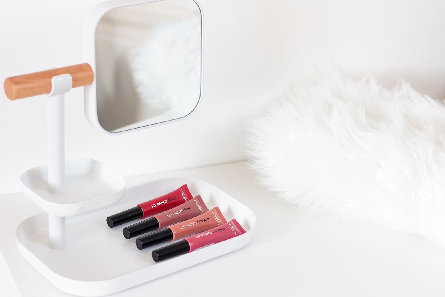 L'oréal lip paint matte lacquer