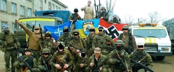 Ukraine Nazi Trump Biden militias paramilitary blowback