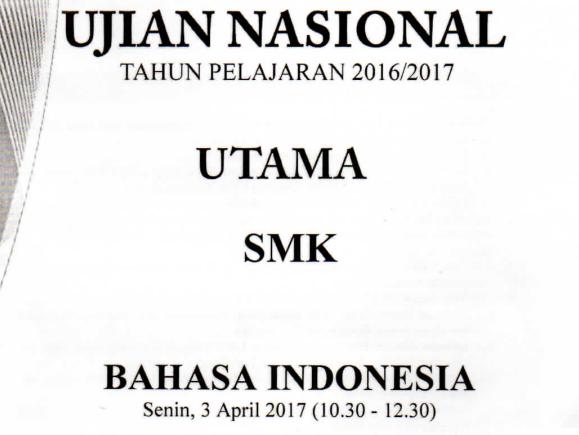 Prediksi Soal Un 2017 2018 Smk Mak Bahasa Indonesia Kompetensi Mengurutkan Kalimat Acak Dan