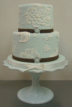 light blue and brown wedding cakes amp wedding wednesday blue cakes 16845