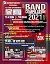 GCI Music Publisher Membuka Kompilasi Band Rock - total 20 Album di 2021