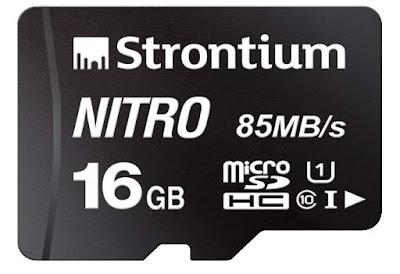 Strontium Nitro 16GB Micro SDHC Memory Card
