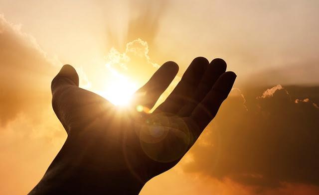Oração da tarde em agradecimento a deus