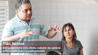 Servidores de São Vicente do Seridó aprovam paralisação de atividades