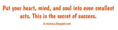 Kata kata nasehat dalam bahasa Inggris beserta terjemahannya. Sangat bijak untuk dijadikan motto hidup.